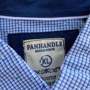 Panhandle roughstock button down- *NEW* $27